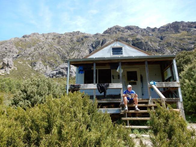 lummelen aan de Pinnacles Hut